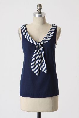 Sailing Stripe Blouse