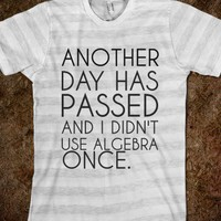 White T-Shirt | Funny Math School Shirts