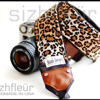 Comfortable Camera strap and Fashion Camera strap  by sizzlestrapz