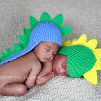 FREE SHIPPING Little dinosaur/ dragon  newborn/ baby by MarysKnits