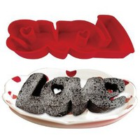 Love Silicone Cake Pan Bakeware: Kitchen & Dining