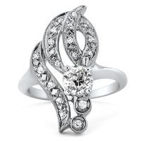 14K White Gold The Navaeh Ring