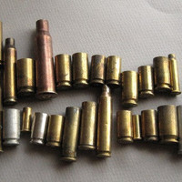 30 bullet shell casings Reclaimed for Steampunk by HorkoverGlass