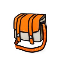 Jump from paper Cheese! 2D looking bag