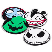 ThinkGeek :: Nightmare Before Christmas Character Head Coasters