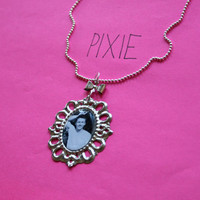 James Franco cameo necklace by PIXIEandPIXIER on Etsy