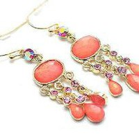 Sherbert Crystal Earrings