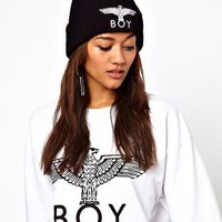 Boy London Beanie Hat at asos.com