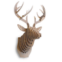3D Faux Deer Head - Maple | Find it at the Foundary