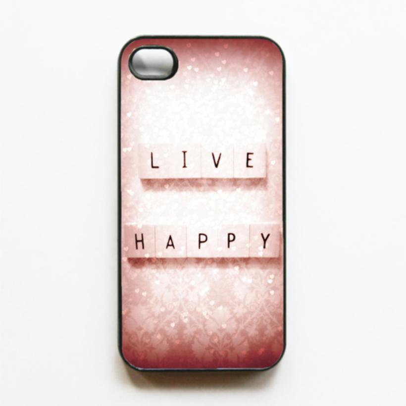 S.S.C. Iphone Cases / Live Happy Iphone 4/4s case