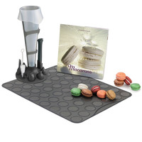 The Patisserier&#x27;s Macaron Making Set - Hammacher Schlemmer