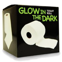 Glow in the Dark Toilet Paper: Home &amp; Kitchen