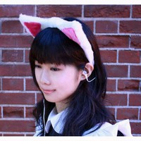 Thanko Cat Ear Neko-Mimi Earphone | GeekStuff4U: From Japan to your Doorstep