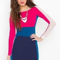 Yvonne Colorblock Dress