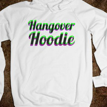 Hangover Hoodie (Purps and green)