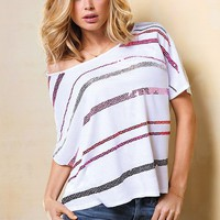 High-Low Dolman Tee