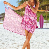 Wrap Cover-up Dress