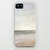 sun, sand, surf iPhone Case by Shawn Terry King | Society6