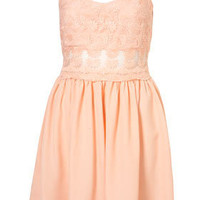 Lace Strappy Dress - Dresses - Apparel - Topshop USA