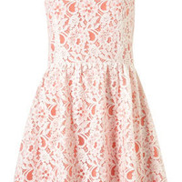 Sleeveless Lace Dress - Dresses - Apparel - Topshop USA