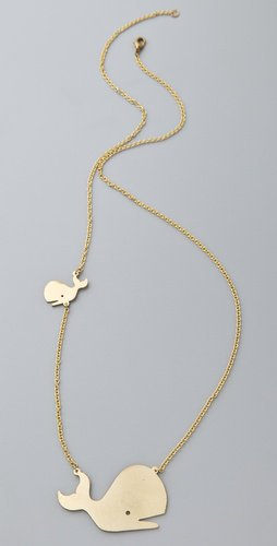 Monserat De Lucca Whale Necklace | SHOPBOP