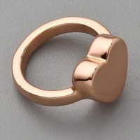 Marc by Marc Jacobs Mini Charm Heart Stacking Ring | SHOPBOP