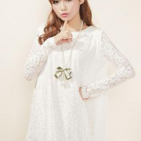Lace Hollow Princess Dress  S010190