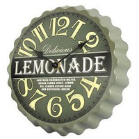 INFMETRY:: Bottle Cap Styled Wall Clock - Clock - Home&amp;Decor
