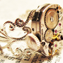 Steampunk ring vintage hamilton watch movement by InsomniaStudios