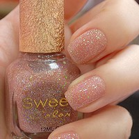 Shinning Pink Sweet Color 12ml Nail Polish [578]