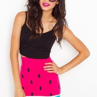 Watermelon Skirt in  Clothes at Nasty Gal