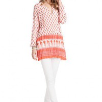 Lulu Purify Block Print Tunic  | Calypso St. Barth