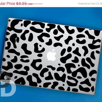 ON SALE Cheetah Print Macbook Decal for MacBook Pro by DecalDecals