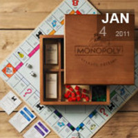 The vintage edition Monopoly gift | TicaToca