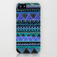 Ocean T Blue iPhone Case by Lisa Argyropoulos | Society6