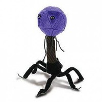 Giant Microbes Plush Toy T4 Bacteriophage | X-treme Geek