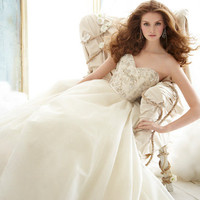 Bridal Gowns, Wedding Dresses by Jim Hjelm - Style jh8213