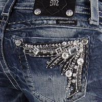 Miss Me Glitz Boot Stretch Jean - Women&#x27;s Jeans | Buckle