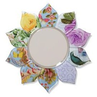 One Kings Lane - Fringe Studio - Paisley Petal Mirror