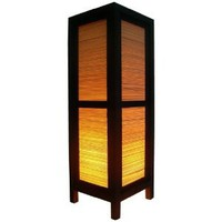 Amazon.com: Handmade Table Lamp Asian Oriental Bamboo Art Decor ( Larger Size ) Cheap Price Made From Thailand: Everything Else