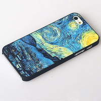 Cool Sky Painting Hard Cover Case For Iphone 4/4s/5