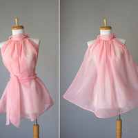 Romantic Dreamy Soft Sheer Pale Pink by AtelierSignature on Etsy