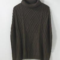Cable-Knit Cape by Spiegel - Ultimate Outlet