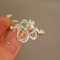 Om Sweet Om  Ring 2 smallish