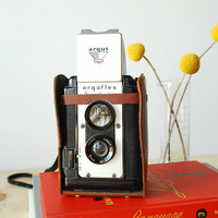 Argus Seventy-Five Vintage Camera 620 Film Camera with Case
