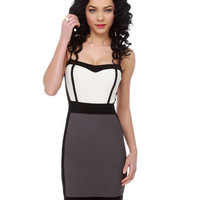 Sexy Color Block Dress - Body-Con Dress - &amp;#36;35.50