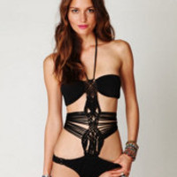 Mara Hoffman Macrame One Piece - Free People