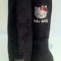 UGG Boots CUSTOM MADE With Hello Kitty Swarovski Crystals ALL COLORS & SIZES 651
