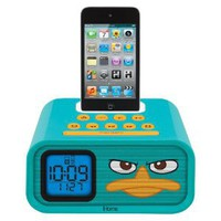 eKids Phineas and Ferb Agent P 30-Pin iPod Speaker Dock: MP3 Players & Accessories