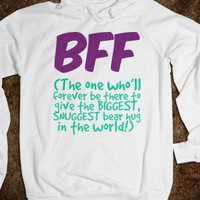 BFF - The One Who Gives the Biggest Snuggest Bear Hug - Connected Universe